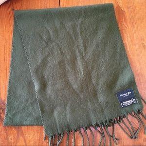 Christian Dior Green Scarf